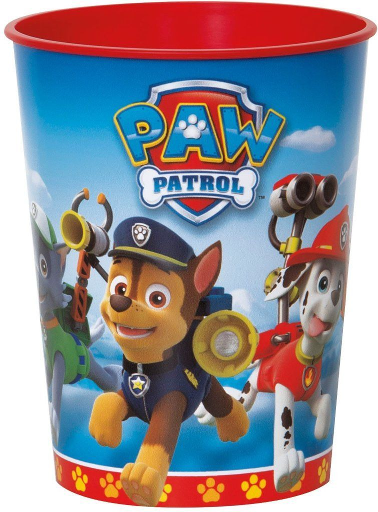 Paw Patrol 16 Oz Plastic Cup Case Of 36