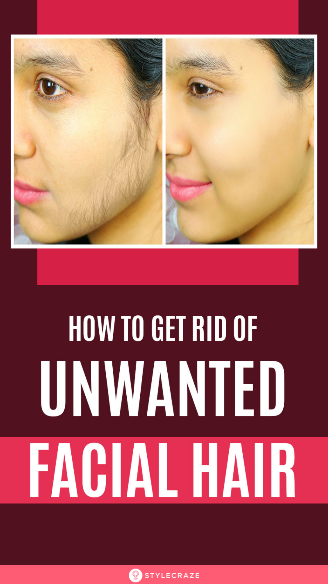 home remedies and tips for unwanted facial hair | my fav