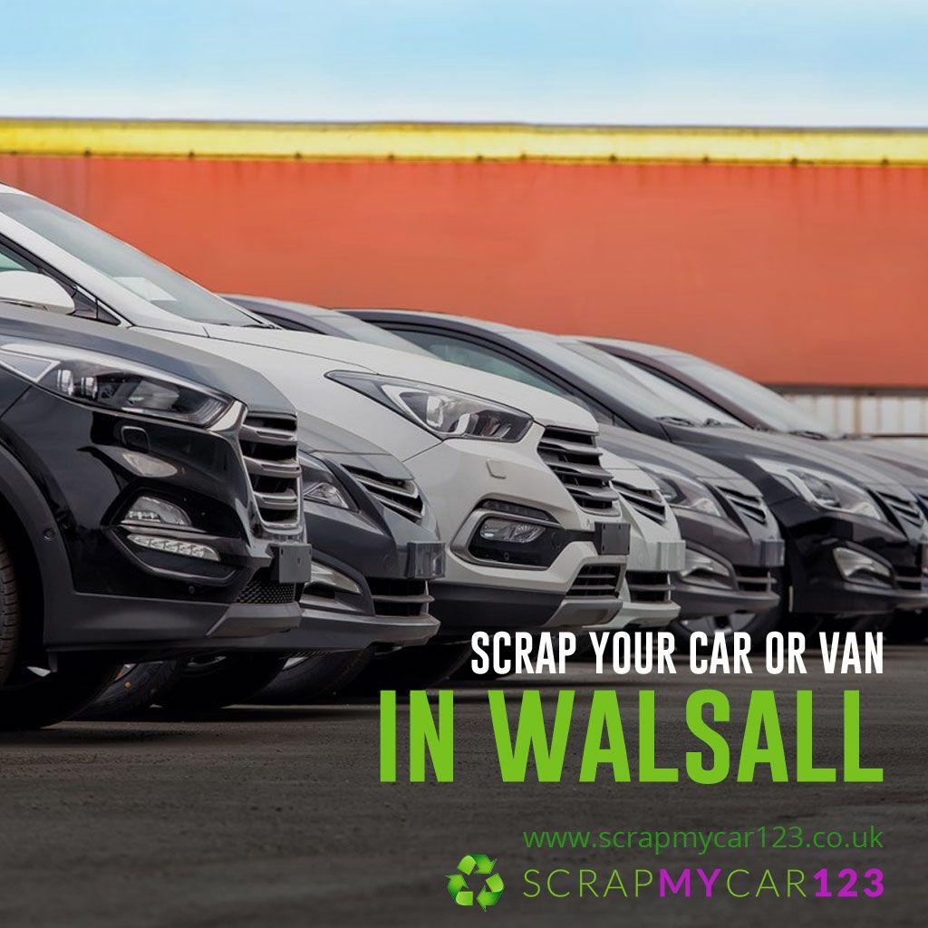 Walsall Scrap car, Car, Scrap