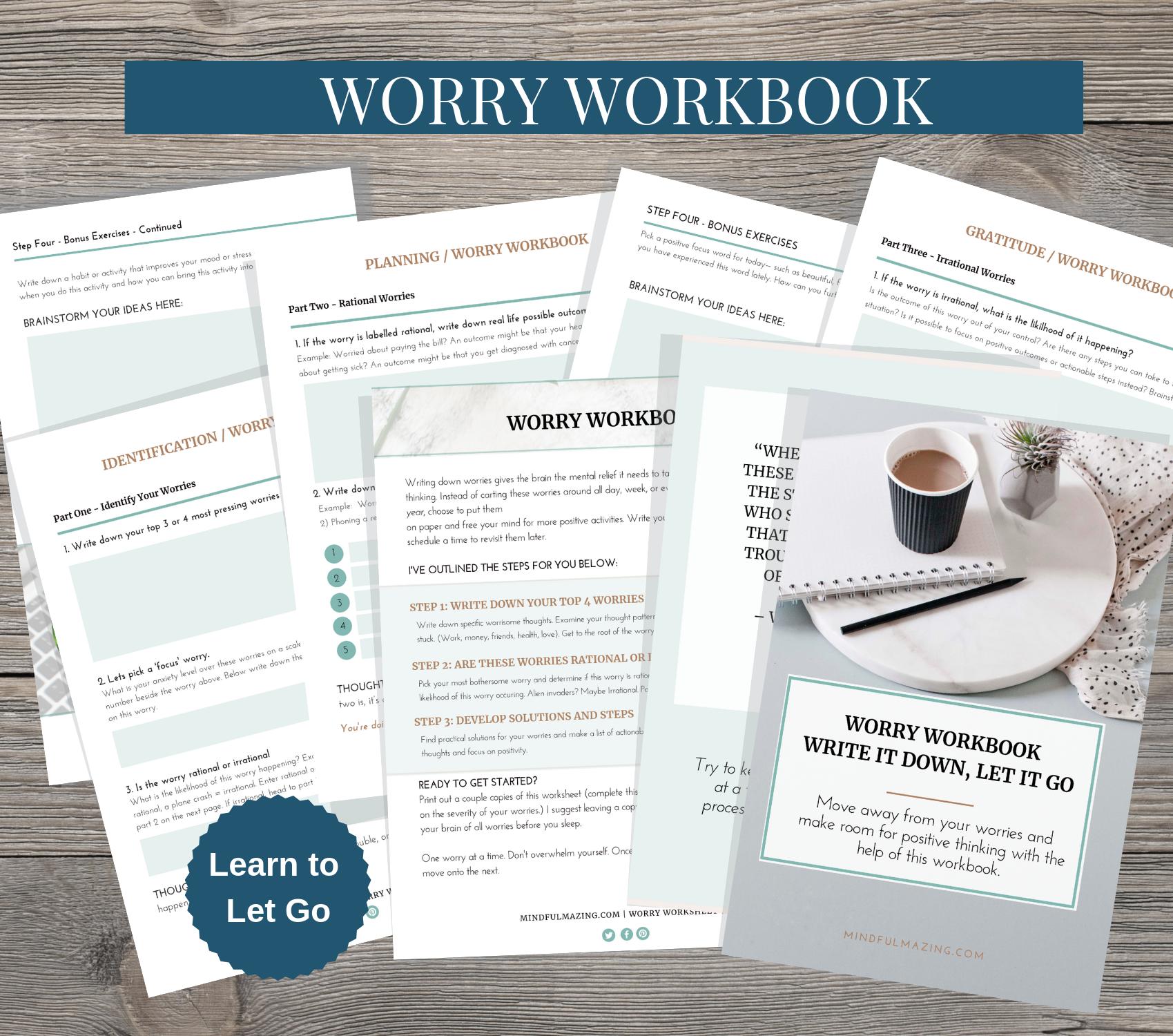Worry Workbook In
