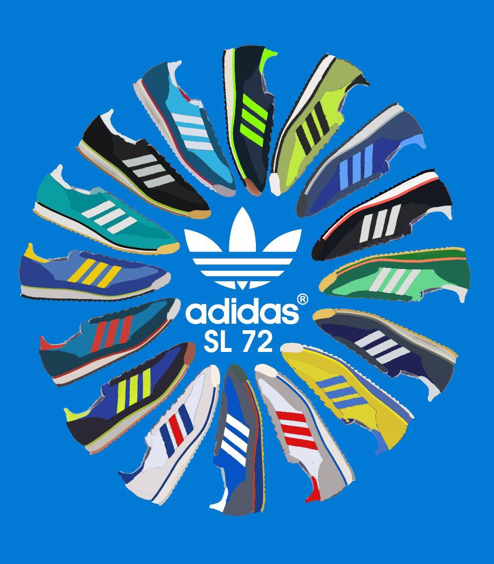 Adidas Originals SL72, SPEZIAL, SL76, 1609ER, 3 STRIPES