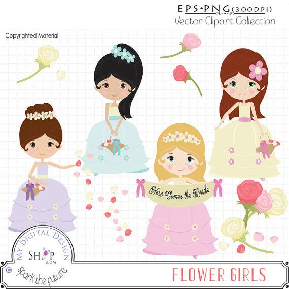 Wedding Flower Girl Art