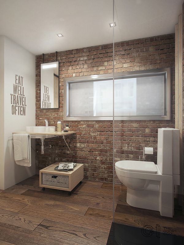 kleine badkamer inrichten appartement - Badkamer ideeën | Pinterest ...