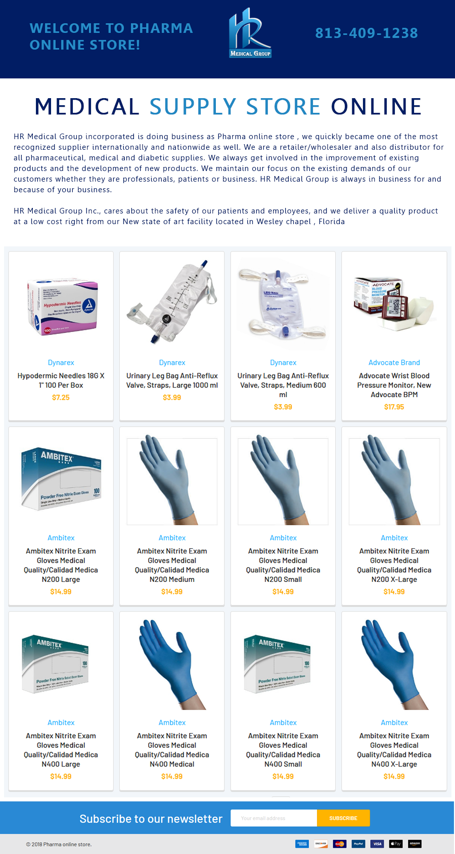 promo code 9bf61 ded87 Medical Supplies. HR Medical Group is the largest and most trusted online  supplier of home