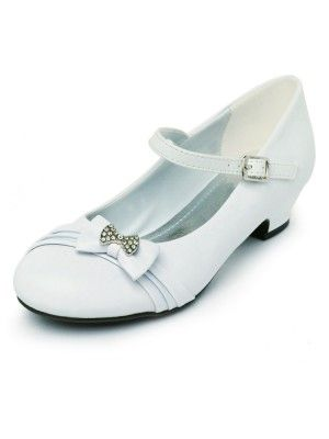 0fa80986c9c White Cutie Bowed Mary Jane Girl Shoes (Sizes Kids 8 - Youth 4) - Girls  Shoes - SHOES