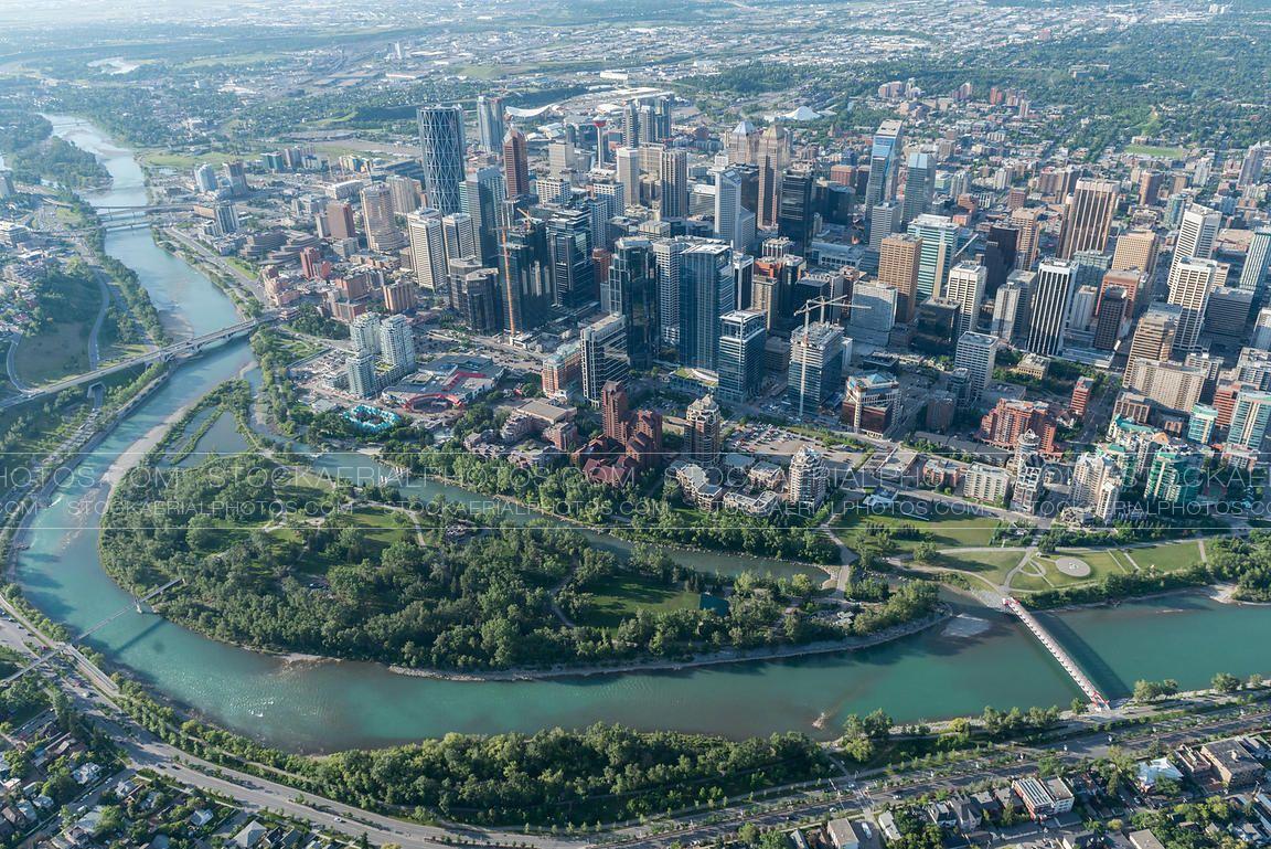 Calgary, Canada City, City skyline, Skyline