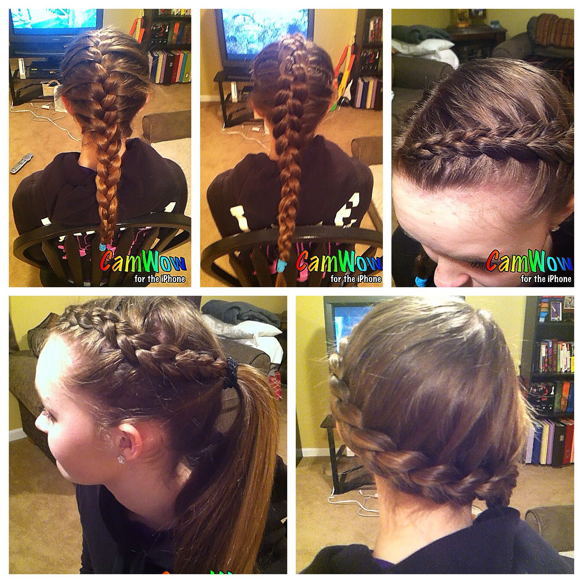 Pin By Ella Hubbard On Hair Sports Hairstyles Hair Styles Sport Hair