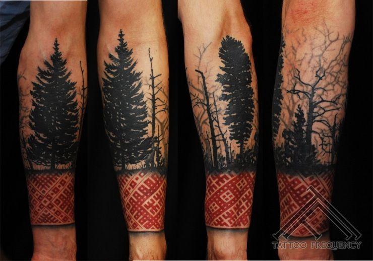 forest tattoo google tattoo pinterest forest tattoos tattoo and nice tattoos. Black Bedroom Furniture Sets. Home Design Ideas