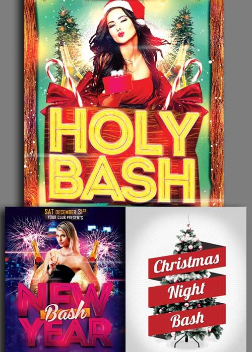 Download Christmas Flyer 3in1 V3 2017 Template Free Download