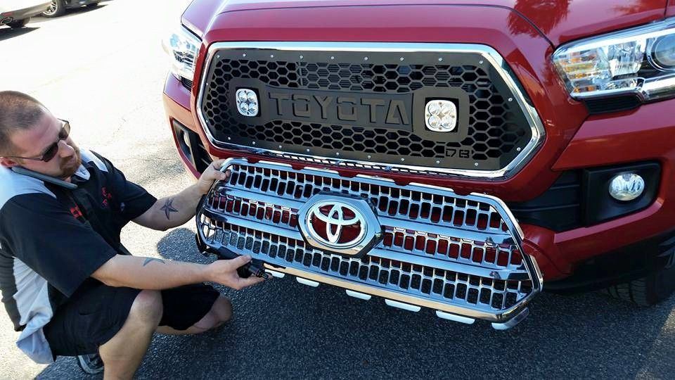DB Customz 2016+ Grille insert for Cube LED Lights