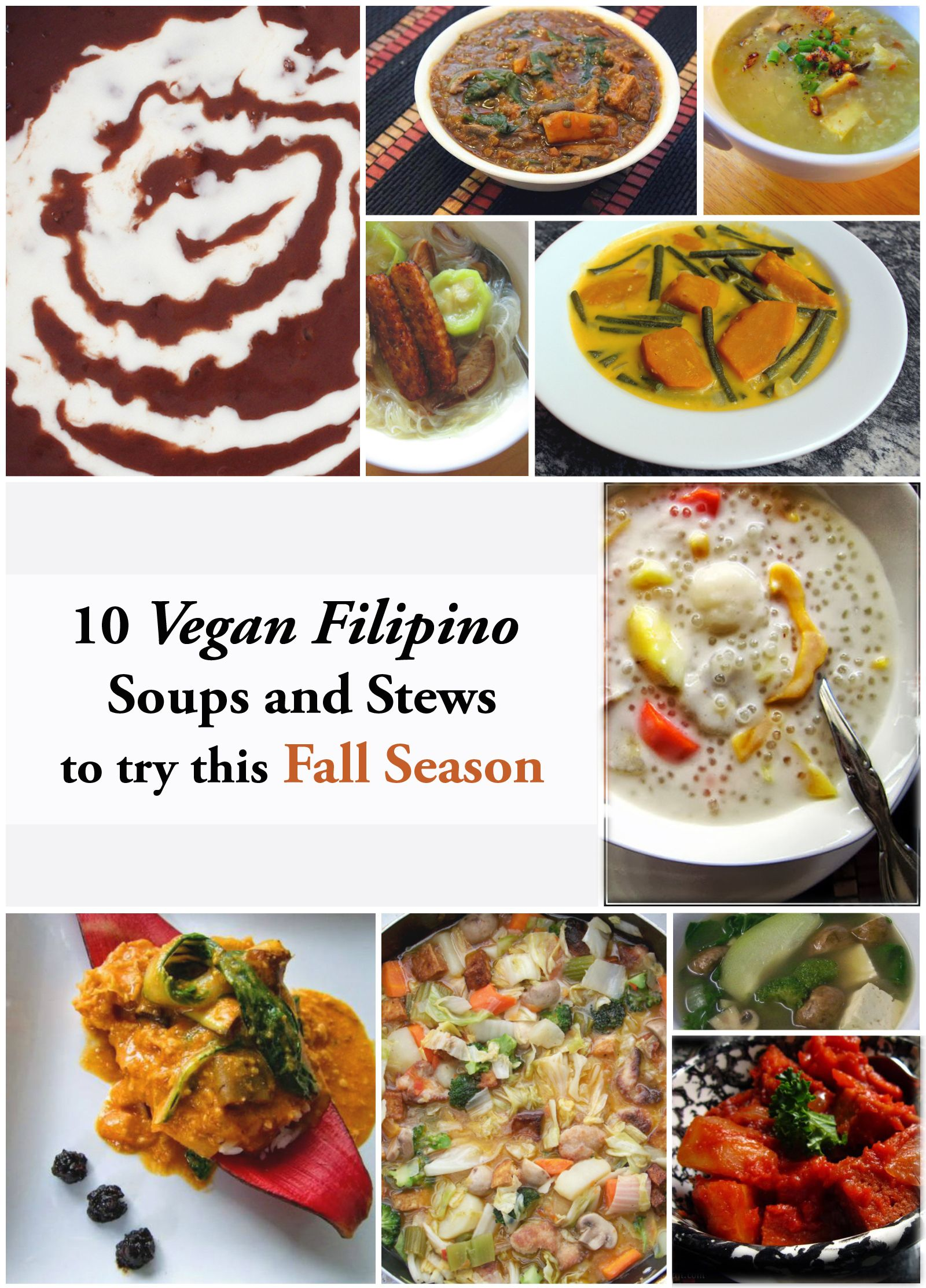 10 Vegan Filipino Soups And Stews For Fall Recipes To Try