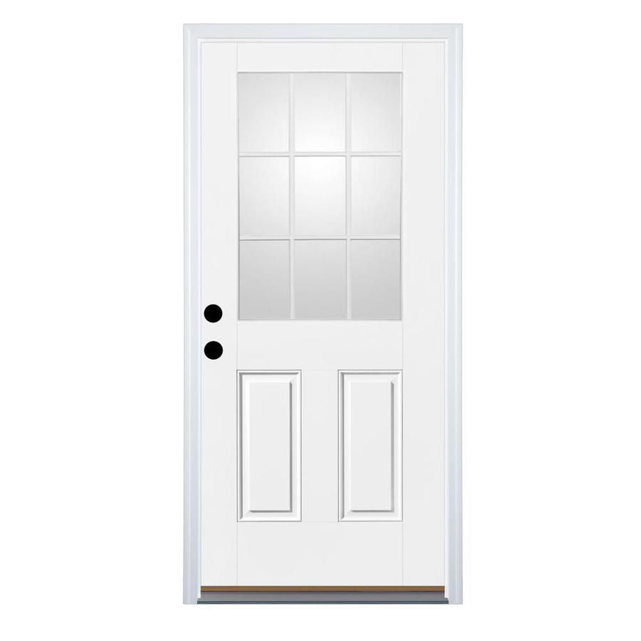 New Lowes Fiberglass Front Entry Doors