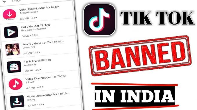 The Chinese video app TikTok got very much famous in India
