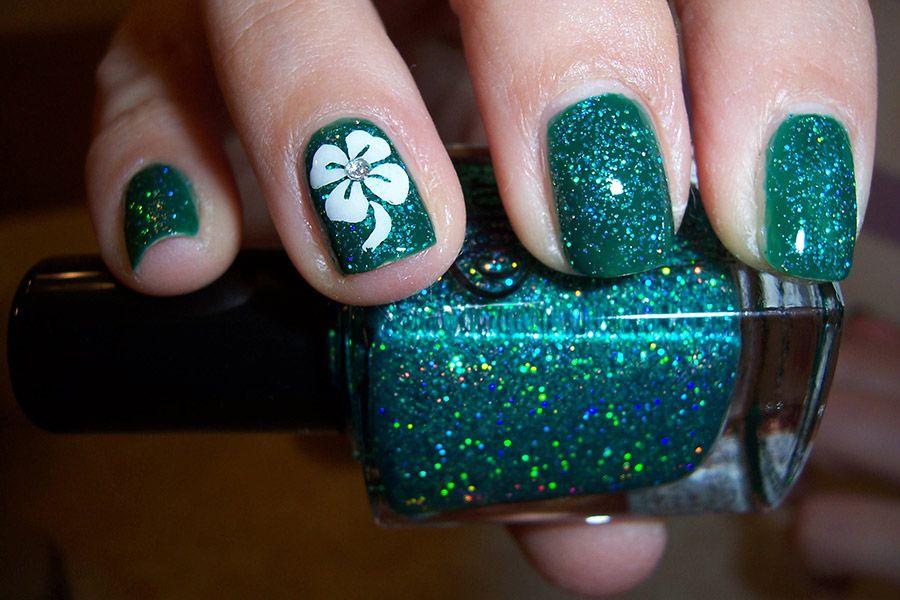 Más de 50 Uñas decoradas de San Patricio – St Patricks Day Nail art ...