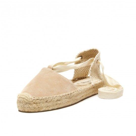 Suede Platform Gladiator Sandal