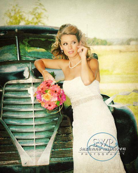 Vintage bridal sass