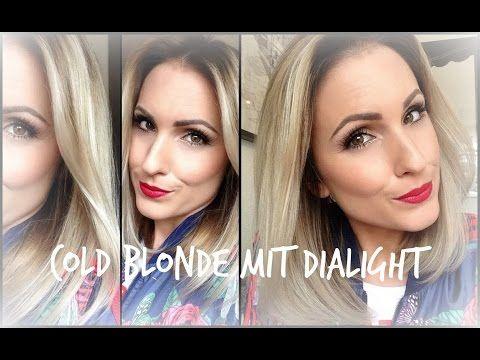 Cold Blonde Mit Loreal Dialight Milkshakes Diy Abmattieren
