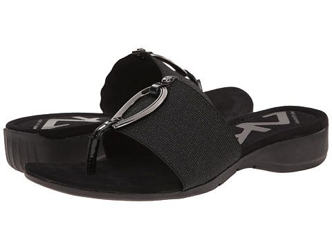 Anne Klein Anne Klein  Aaydee Sparkle Elastic Womens Wedge Shoes for 25.99 at Im in! #sale #fashion #I'mIn