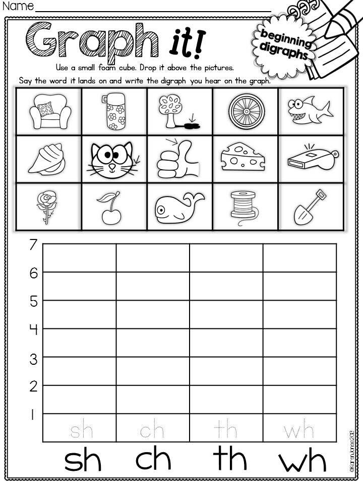 Phonics Worksheet  Worksheets    Phonics Worksheets And