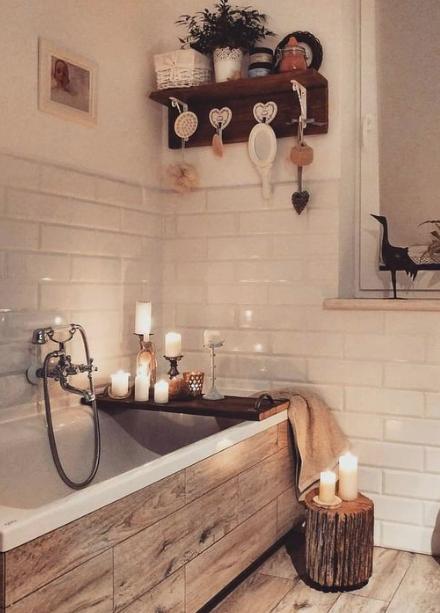 Photo of Aménager une salle de bain inspiration bois