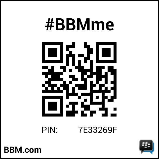 #BBMme #BBMPin