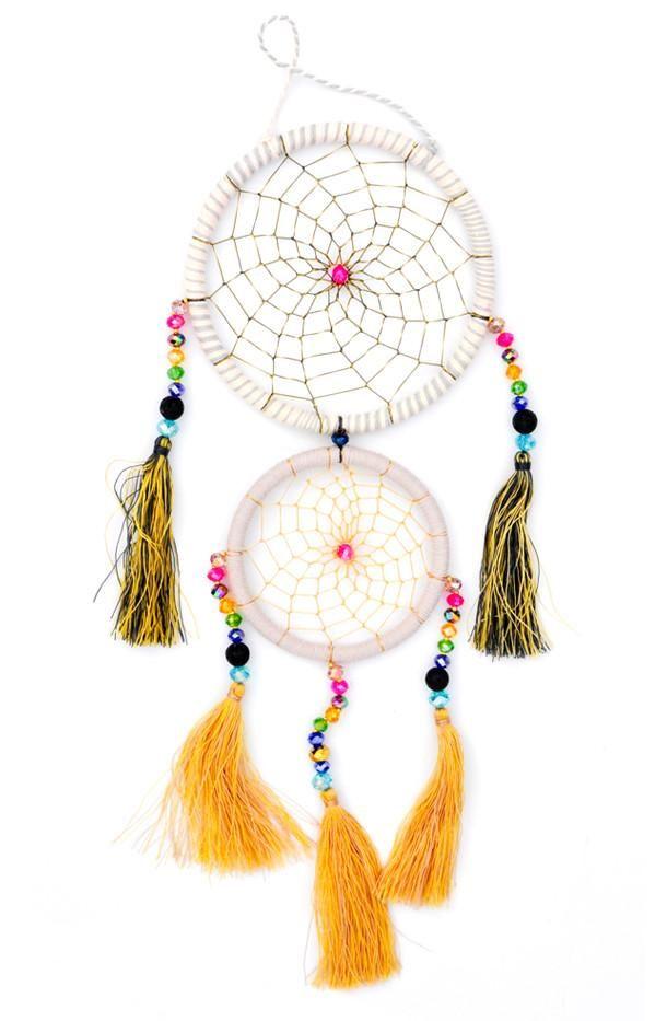 Moonbeam Dreamcatcher Berry Dream Catcher Glass Beads