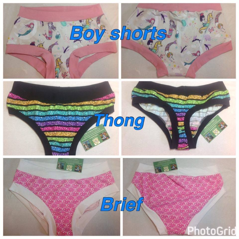 Custom made Ladies scrundies are the most comfortable ladies underwear.  They are available for custom d5b96acae