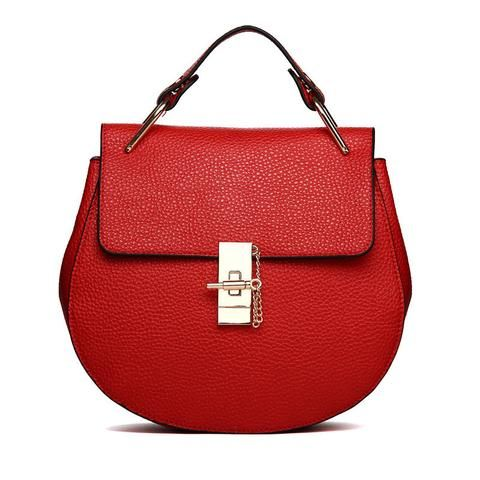 Famous Brand Leather Women Shoulder Bag Vintage Style Totes, handbag, MHY STORE…