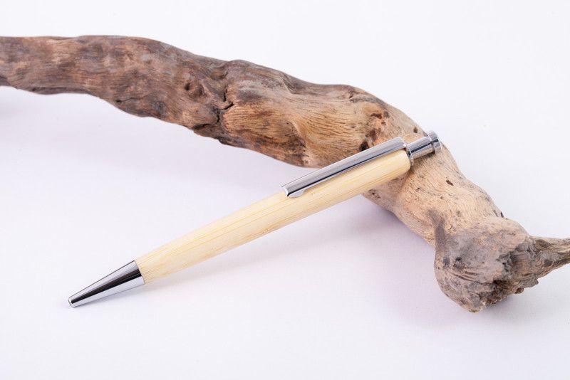 Holz-Kugelschreiber aus Bambus