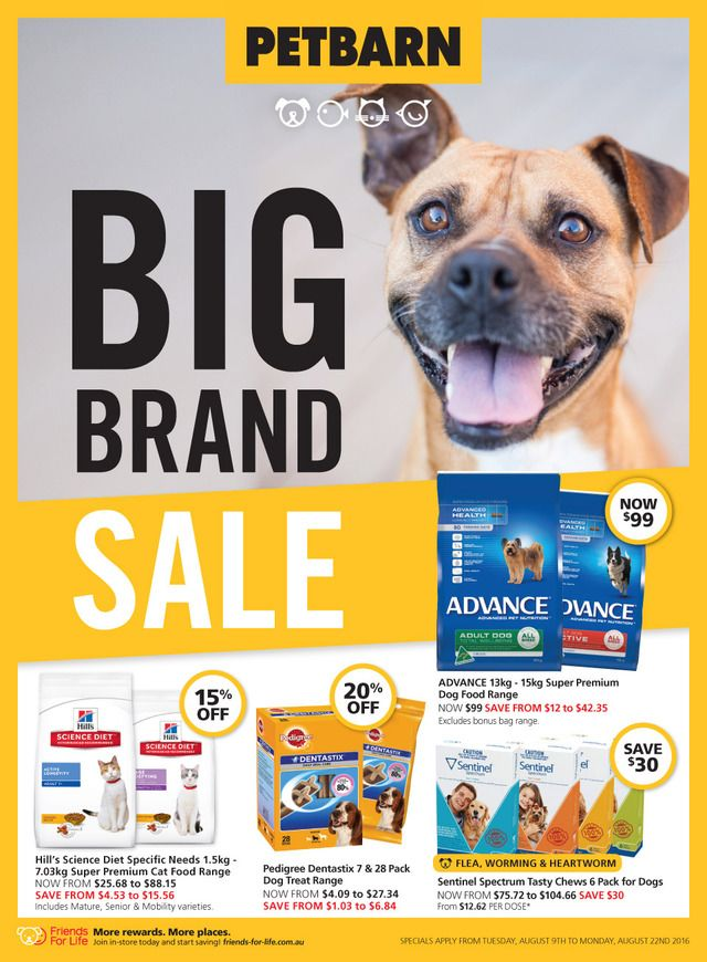 Petbarn Catalogue 9 22 August 2016 Catalogues Weekly Specials 2016 Australia S Leading Retailers And Groceries P Hills Science Diet Science Diet Grocery