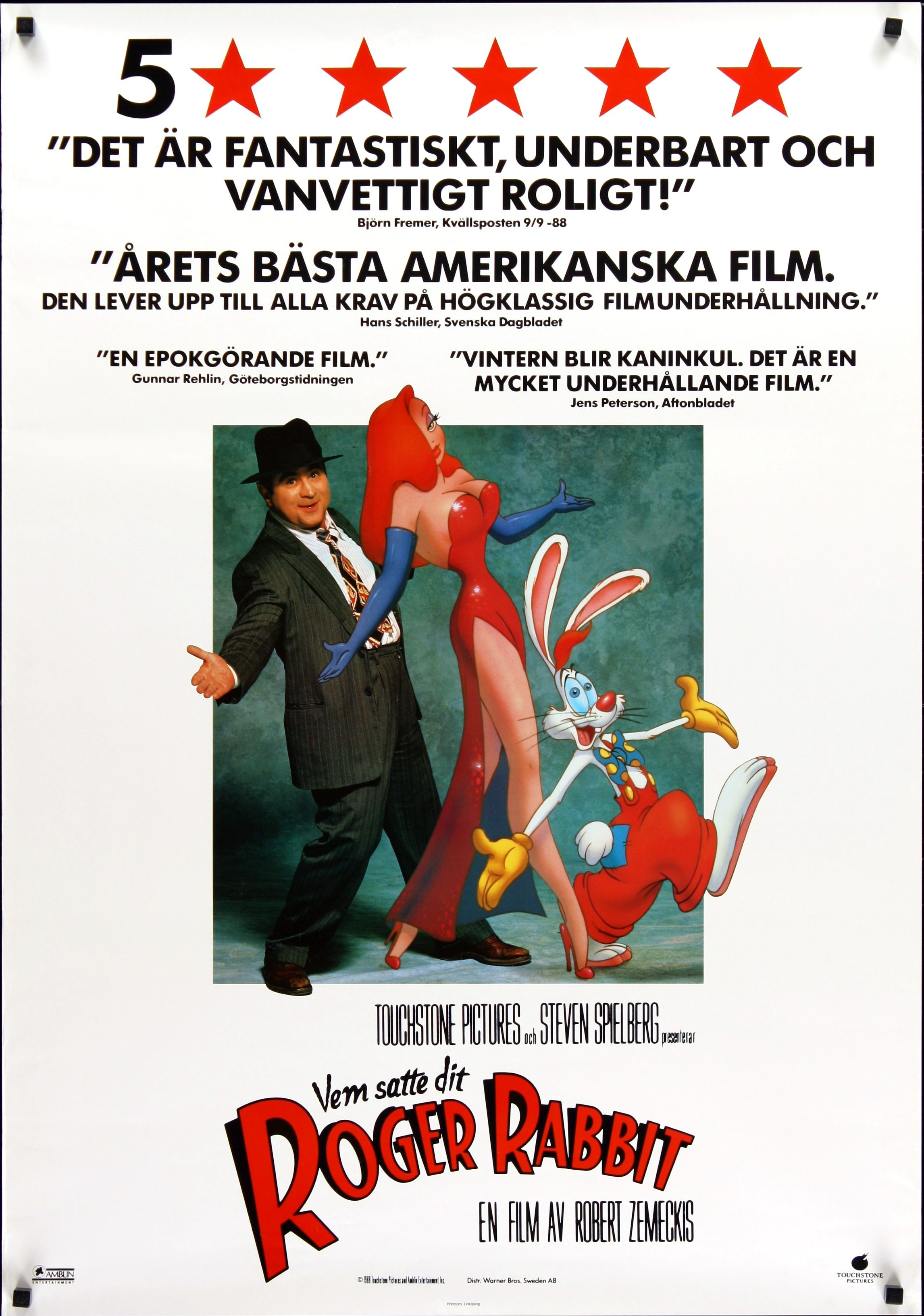 Who Framed Roger Rabbit poster - Google Search | - Movies ...