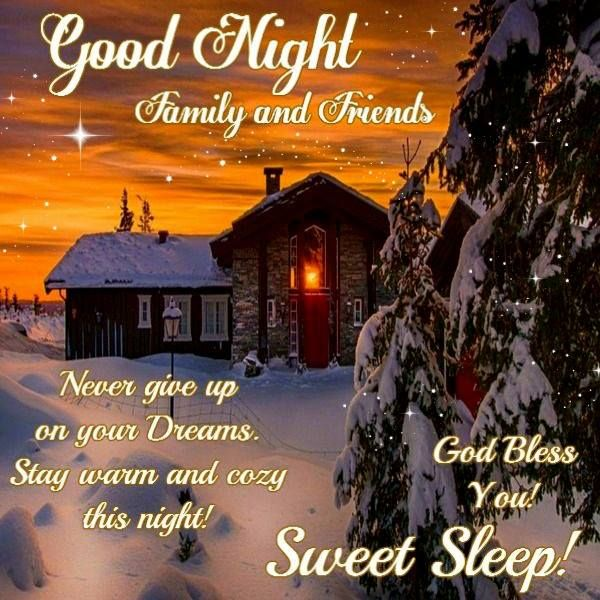 Good Night, God Bless you! | country | Good night wishes