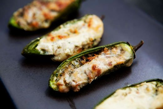 Baked Stuffed Jalapenos Recipe Baked Stuffed Jalapenos Stuffed Peppers Recipes