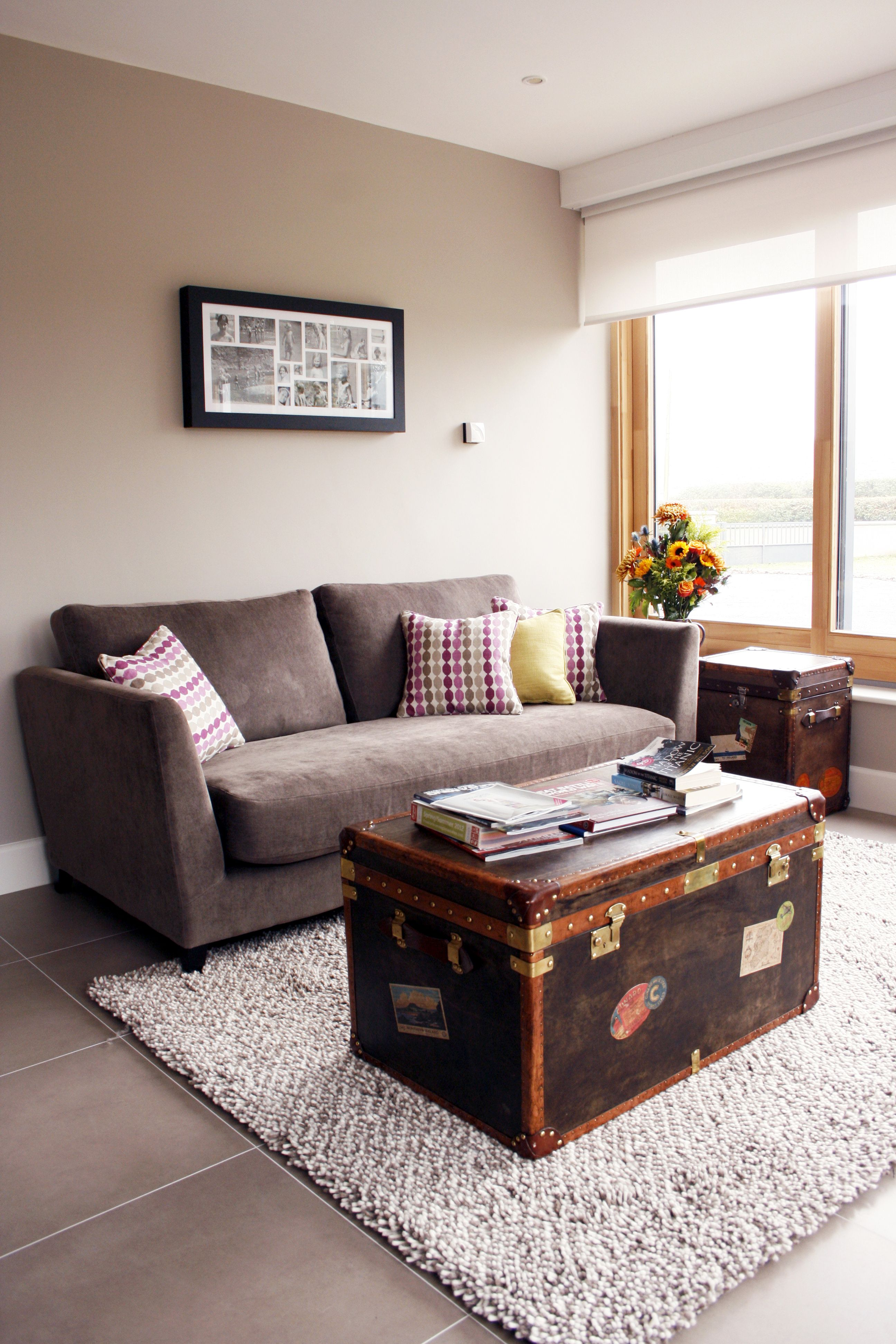 Living room bedroom house renovation kildare by think