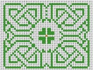 Celtic Knot · Cross-Stitch | CraftGossip.com