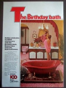 Original Ad For The Kohler Red Birthday