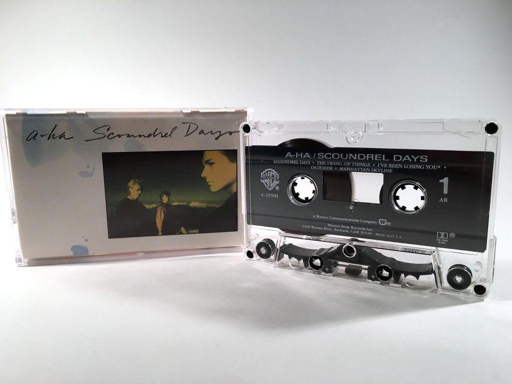 A Ha Scoundrel Days Cassette With Images Scoundrel Cassette