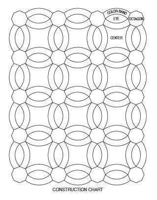 wedding ring crochet quilt - Double Wedding Ring Quilt Templates