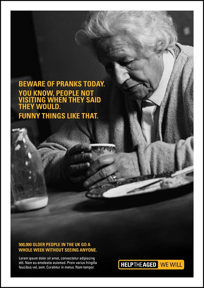 Creativefanclub help the aged april fools day tactical press creativefanclub help the aged april fools day tactical press ad for elder abuse charity campaign fandeluxe Image collections