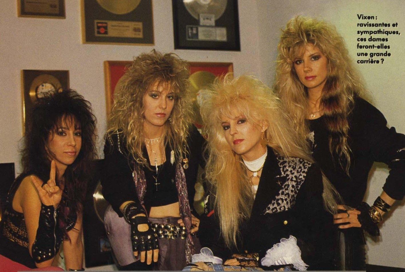 Hair That Rocked Vixen! Hair metal bands, Female rock