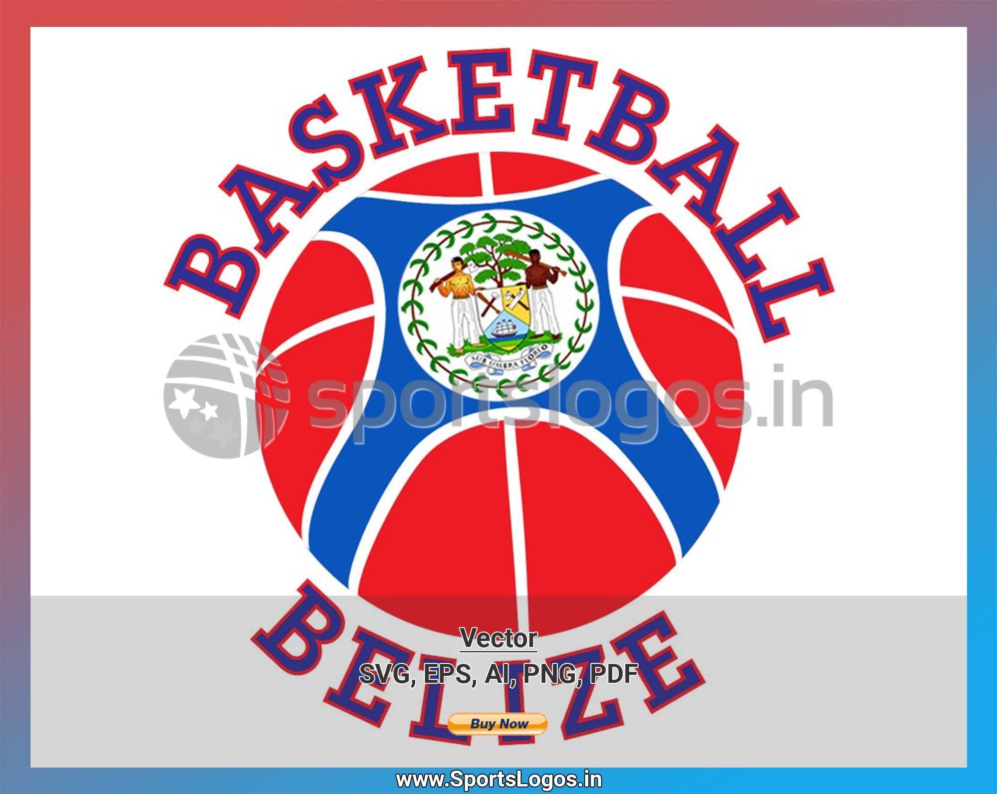 Belize Basketball Sports Vector SVG Logo in 5 formats