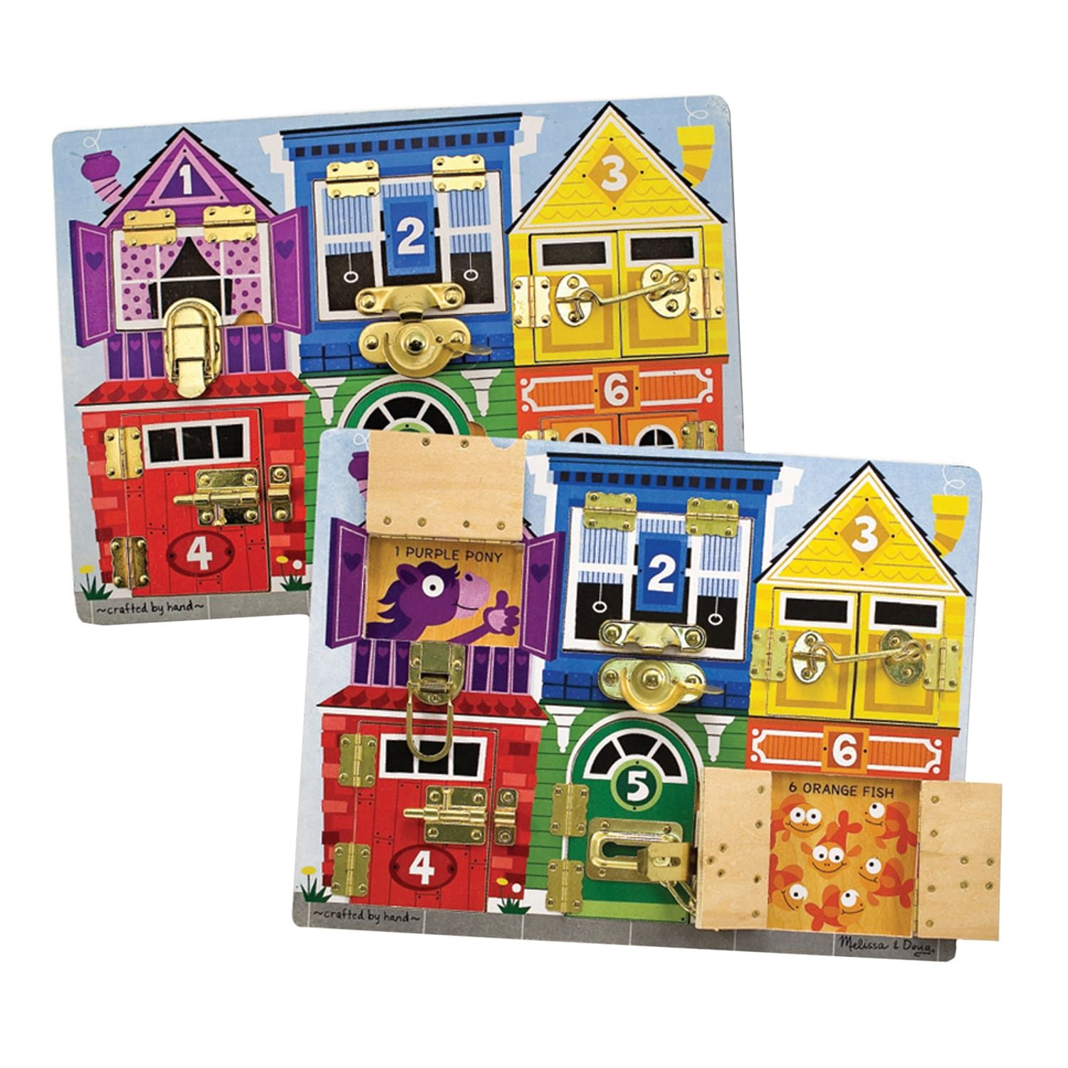 Melissa Doug Latches Board Puzzle Design Inspiration Art