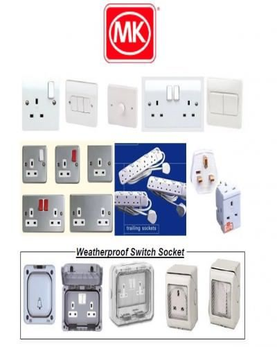 Dealer Of Electrical Switch And Socket From Mk Honeywell