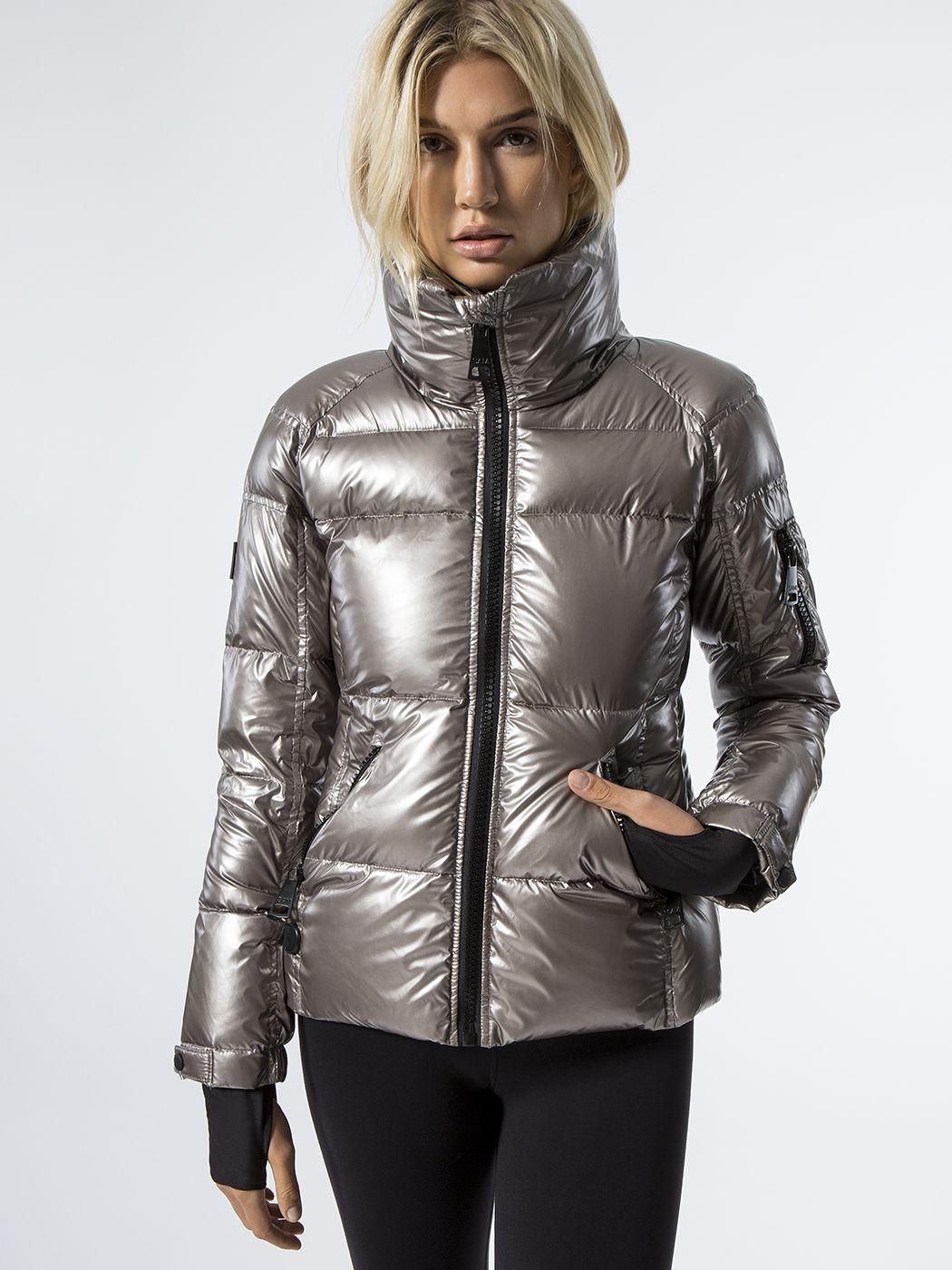 Freestyle Jacket In Gunmetal By Sam From Carbon38 Elegant Jacket Jackets Outerwear Women [ 1400 x 1050 Pixel ]