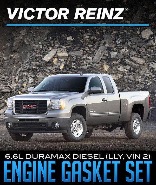 Victor Reinz 6 6L Duramax Diesel (LLY, VIN 2) Engine Full