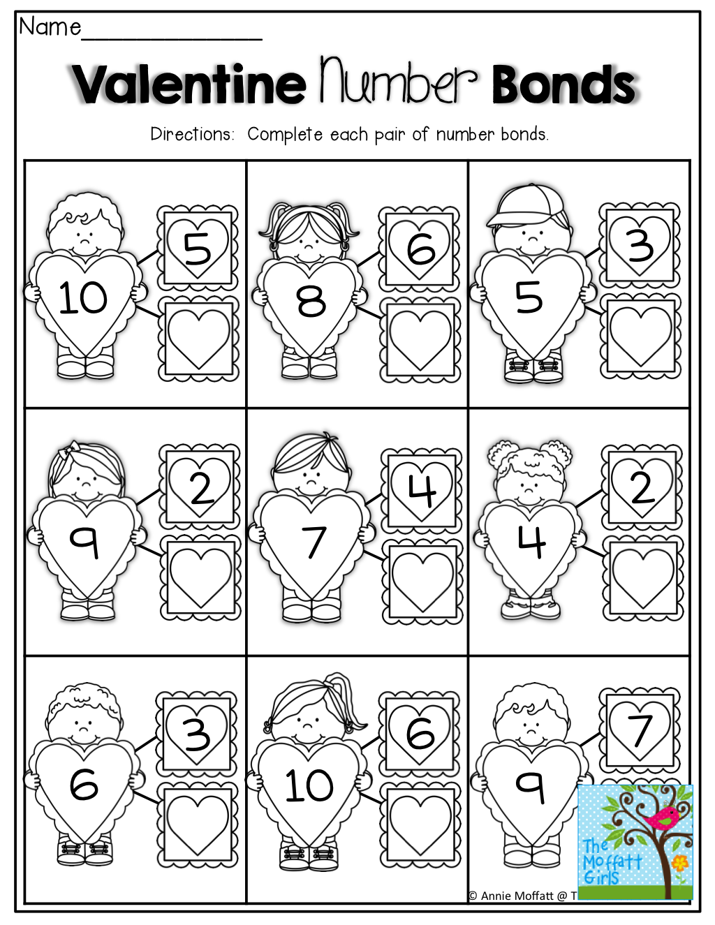 Number Bonds Tons Of Fun Printables