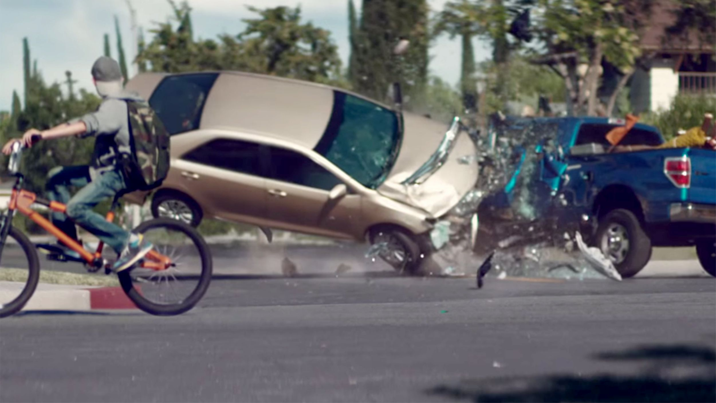 Current Car Crashes From Distracted Driving