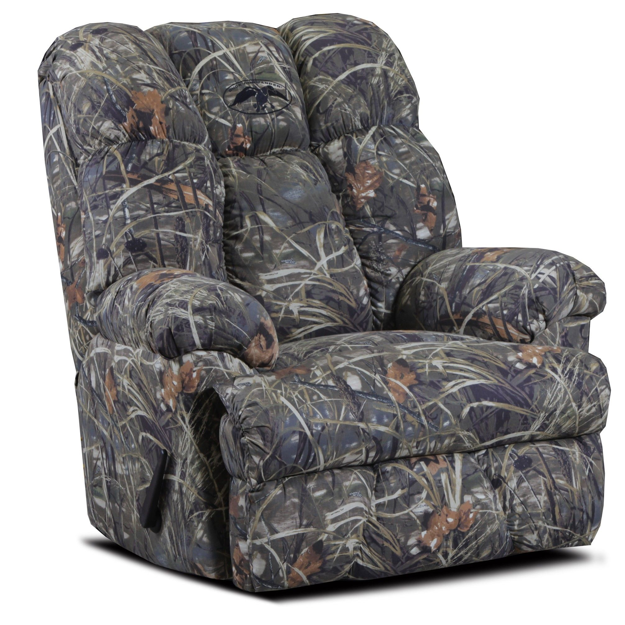Camo Reclining Sofa Lay Flat Reclining Sofa In Mossy Oak Or Realtree Camouflage Fabric Thesofa
