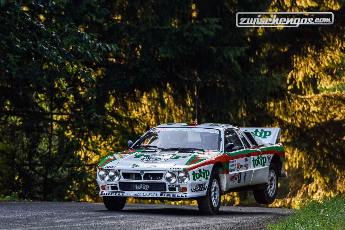 Lancia Rally 037 (1984) - am ADAC Eifel Rallye Festival 2014.  © Petra Sagnak für Zwischengas