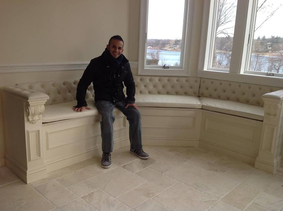 This window seat came out beautiful! This customer can sit